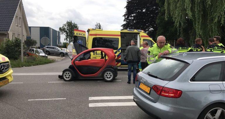 45-km wagen ramt vrachtauto op kruising Bredeweg/Plasweg Zevenhuizen