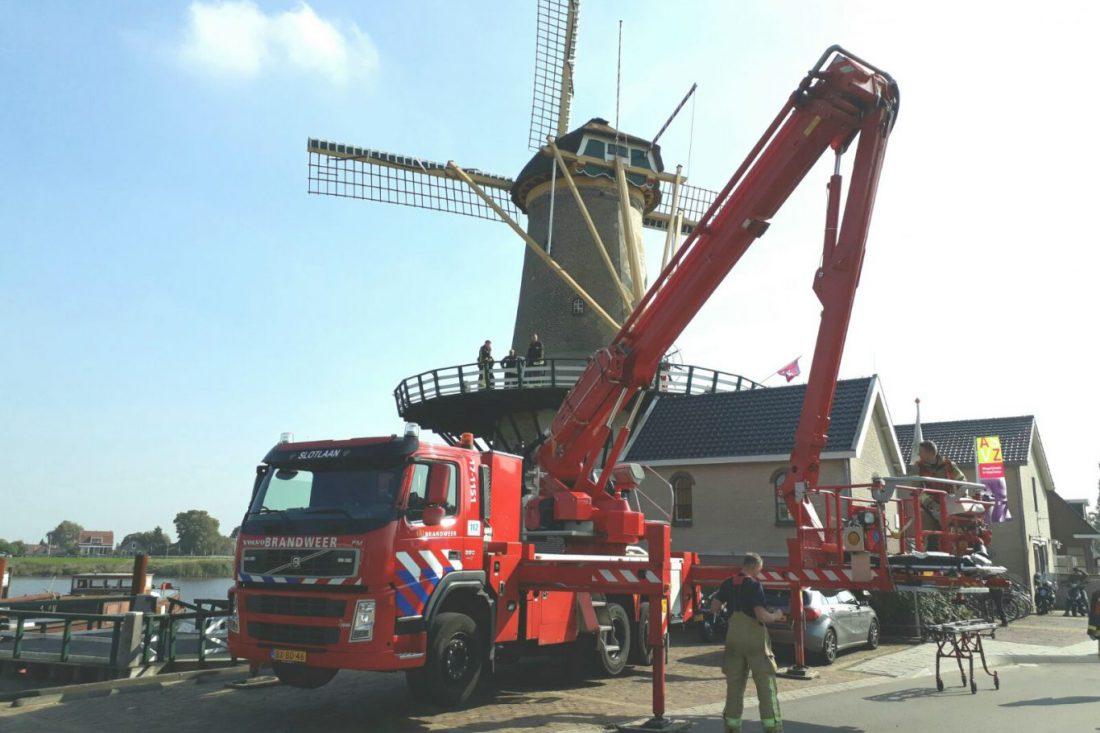 Ongeval Molen Windlust 24 september Nieuwerkerk