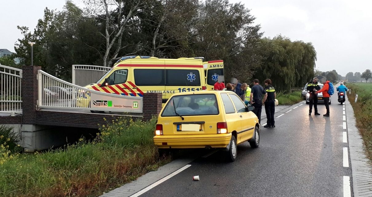 Ongeval fietser Zuidelijke Dwarsweg