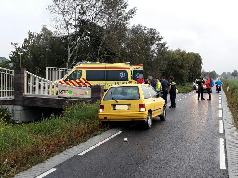 Fietser gewond na ongeval op Zuidelijke Dwarsweg