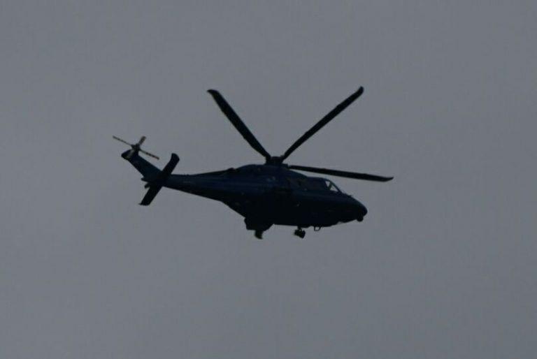 Zoektocht politiehelikopter boven Zevenhuizen na verdachte situatie