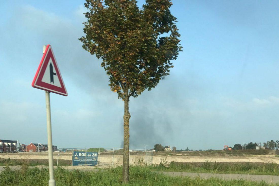 Rookwolken brand 26 september