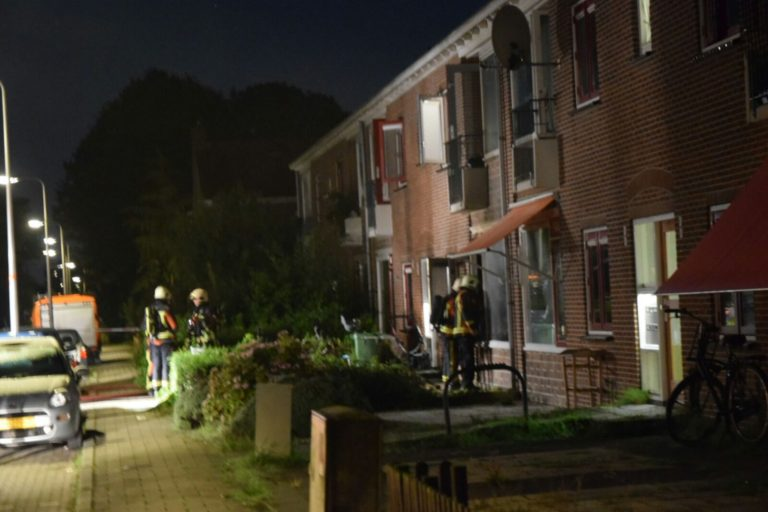 Verdachte aangehouden voor brandstichting Beatrixstraat